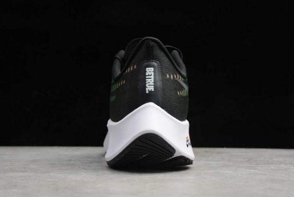 "Nike Air Zoom Pegasus 37 ""BeTrue"" Black/Multi-Color-White CZ5923-001-3"