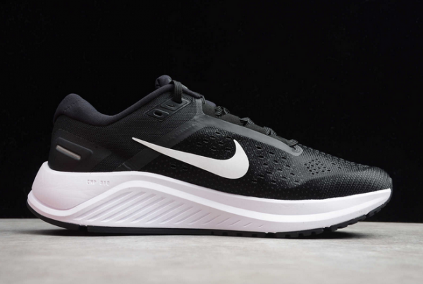 Nike Air Zoom Structure 23 Black White CZ6720-001 Shoes-1