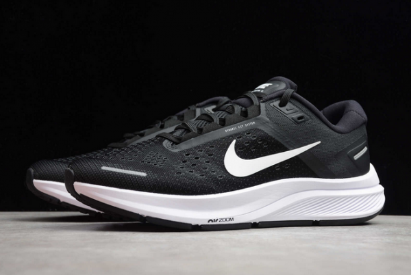 Nike Air Zoom Structure 23 Black White CZ6720-001 Shoes-2