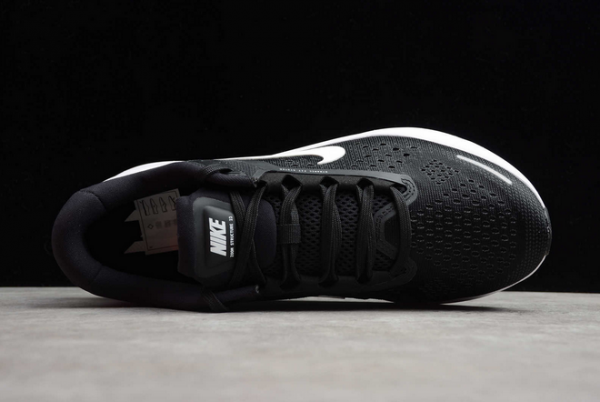 Nike Air Zoom Structure 23 Black White CZ6720-001 Shoes-3