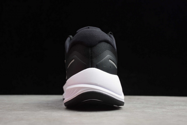 Nike Air Zoom Structure 23 Black White CZ6720-001 Shoes-4