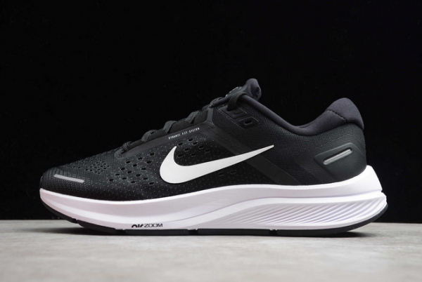 Nike Air Zoom Structure 23 Black White CZ6720-001 Shoes