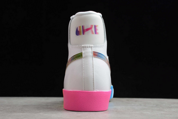Nike Blazer Mid '77 Vintage White/Bright Cactus-Hyper Pink Shoes CZ8653-136-3