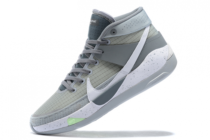 Nike KD 13 Cool Grey/Silver-White Basketball Shoes