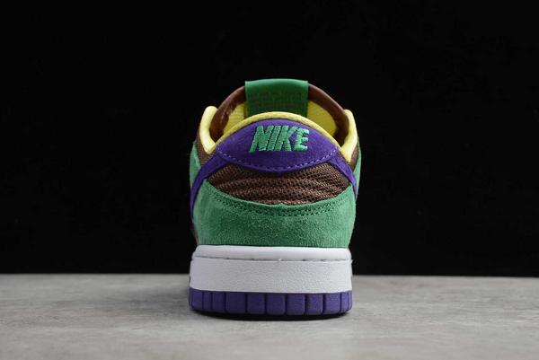 Nike SB Dunk Low Pro QS Bright Melon/Gym Green-Purple CT2552-700 Sale-4