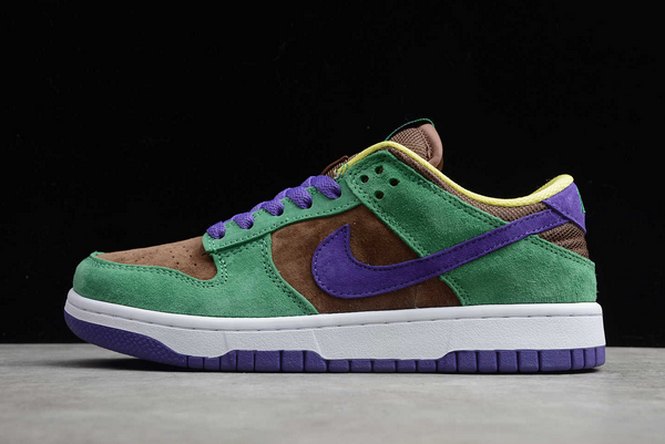 Nike SB Dunk Low Pro QS Bright Melon/Gym Green-Purple CT2552-700 Sale