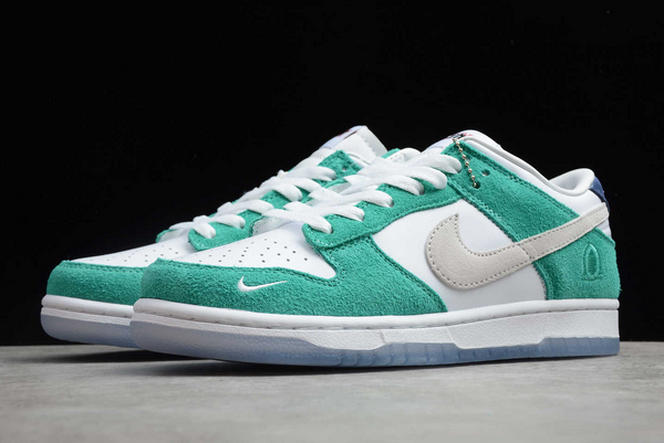 2020 Kasina x Nike Dunk Low Sail/White-Neptune Green-Industrial Blue For Cheap-1