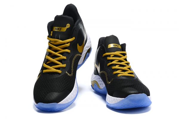 Nike Renew Elevate Black/Metallic Gold-White For Sale-2