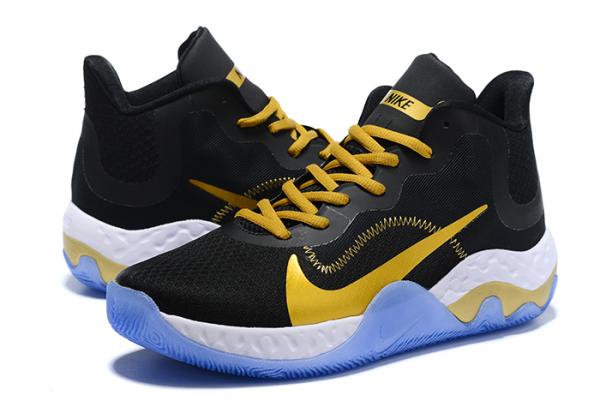 Nike Renew Elevate Black/Metallic Gold-White For Sale-3
