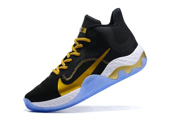 Nike Renew Elevate Black/Metallic Gold-White For Sale