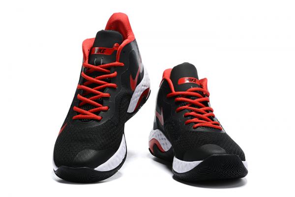 Latest Nike Renew Elevate Black/Varsity Red-White Shoes-1