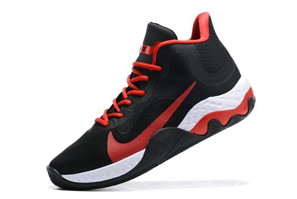 Latest Nike Renew Elevate Black/Varsity Red-White Shoes