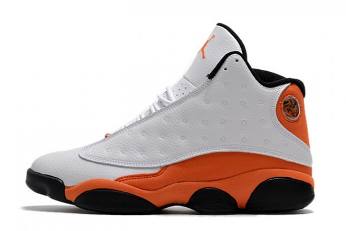 """2020 New Air Jordan 13 """"Starfish"""" White/Black-Starfish Shoes 414571-108"""