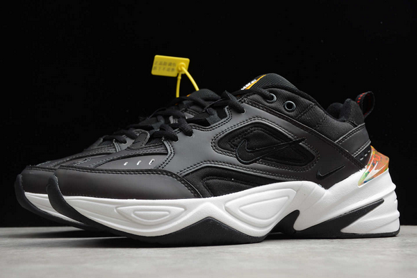 Nike M2K Tekno Thermochromism Black/White-Yellow Shoes For Sale FQ7666-008-2
