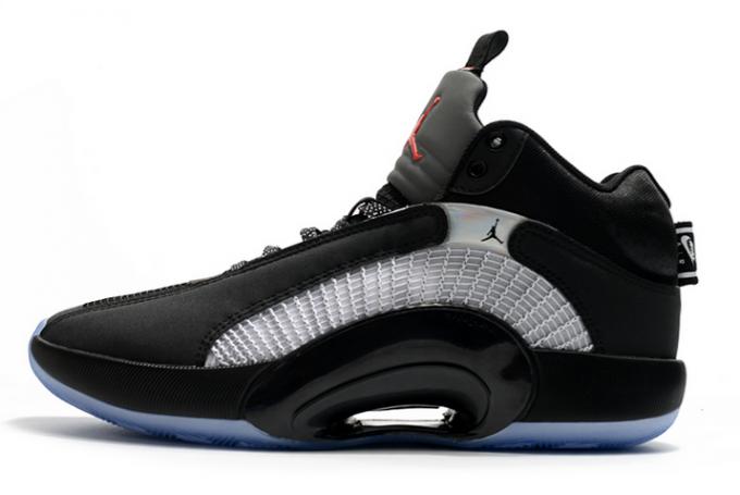 "Air Jordan 35 XXXV ""Bred"" Black/White-University Red Shoes For Cheap"