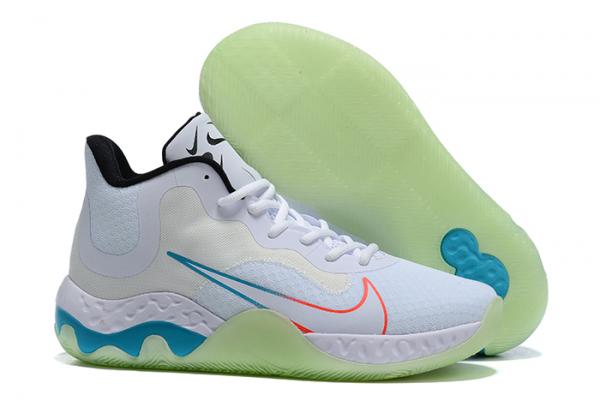 2020 New Nike Renew Elevate White/Black-Orange-Blue For Cheap-1