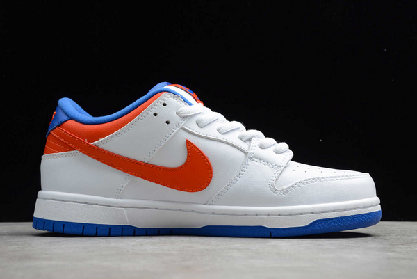 2020 Hot Sale Nike SB Dunk Low Pro White/Royal Blue-Red Sneakers 304292-103-1