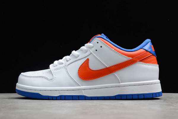 2020 Hot Sale Nike SB Dunk Low Pro White/Royal Blue-Red Sneakers 304292-103