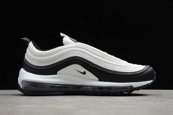 2020 New Nike Air Max 97 White Black For Men And Womens DC3494-990-1
