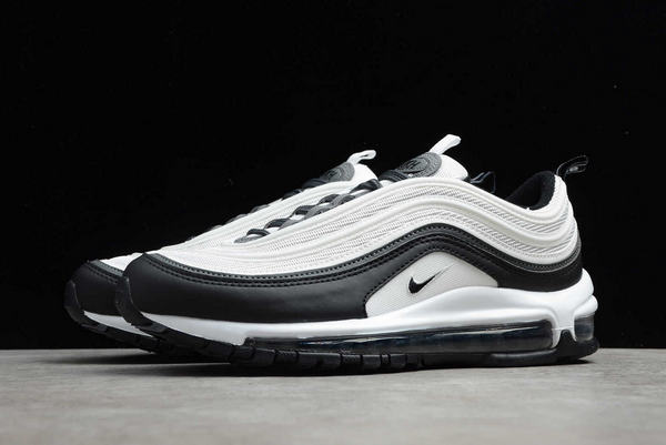 2020 New Nike Air Max 97 White Black For Men And Womens DC3494-990-4
