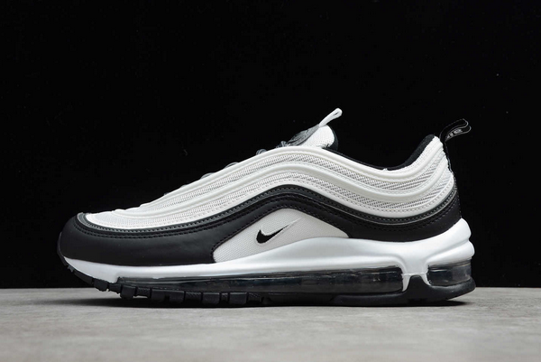 2020 New Nike Air Max 97 White Black For Men And Womens DC3494-990