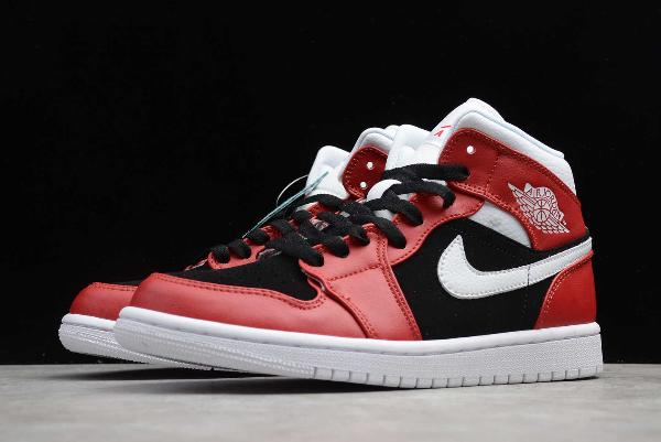 2020 Air Jordan 1 Mid Gym Red Black New Sale BQ6472-601-2