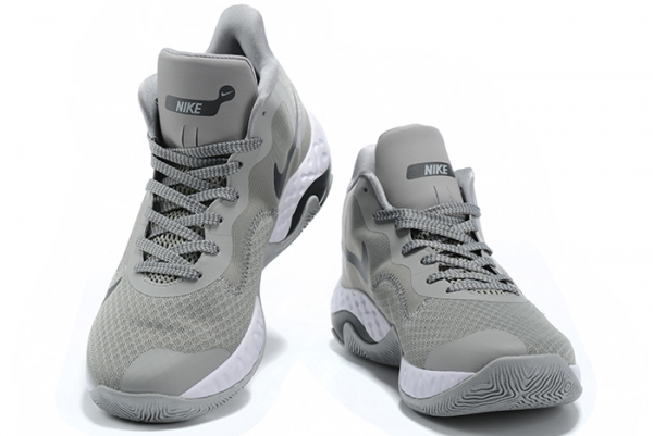 Nike Renew Elevate Cool Grey/Black-White Basketball Shoes Outlet Online-2