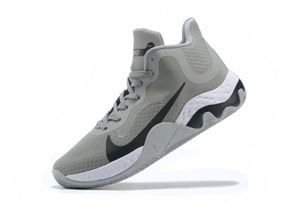 Nike Renew Elevate Cool Grey/Black-White Basketball Shoes Outlet Online
