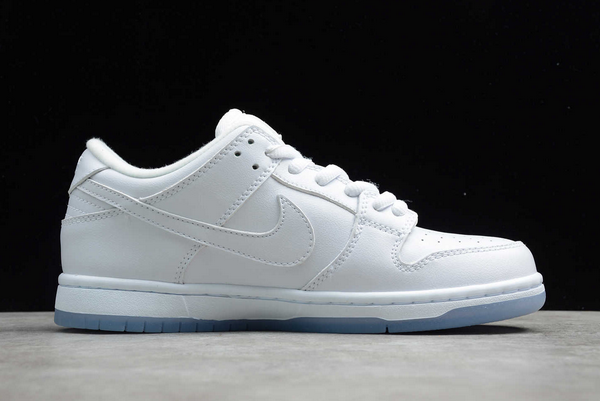 Nike SB Dunk Low Pro White ICE Outlet Sale 304292-100-1