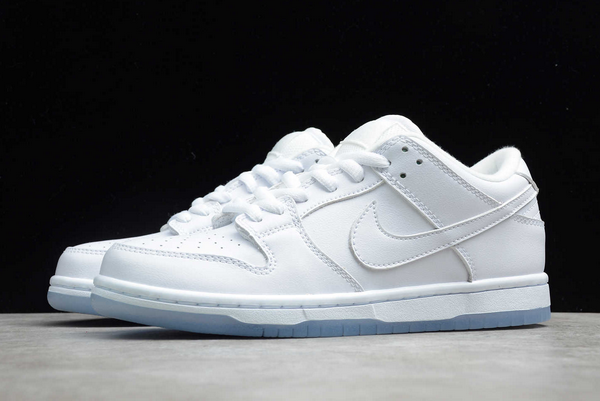 Nike SB Dunk Low Pro White ICE Outlet Sale 304292-100-4