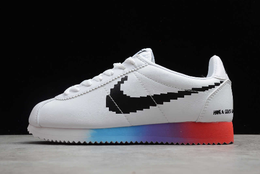 "New Nike Classic Cortez ""Have A Good Game"" White/Bright Crimson-Black DC3280-101"