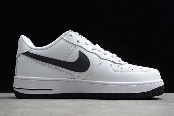 New Nike Air Force 1 Low White/Grey-Dark Grey Sneakers DD7113-100-1