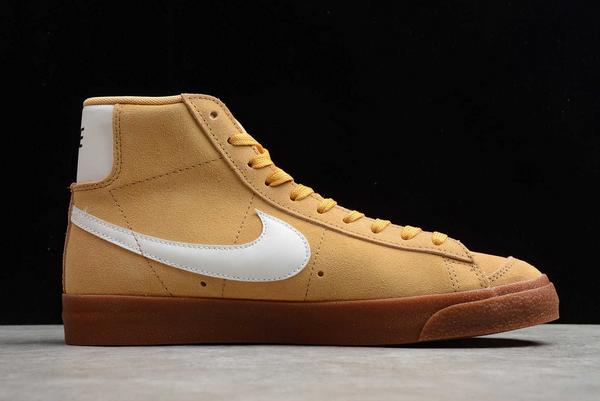 New Style Nike Blazer Mid Wheat Gum Sneakers DB5461-700-1