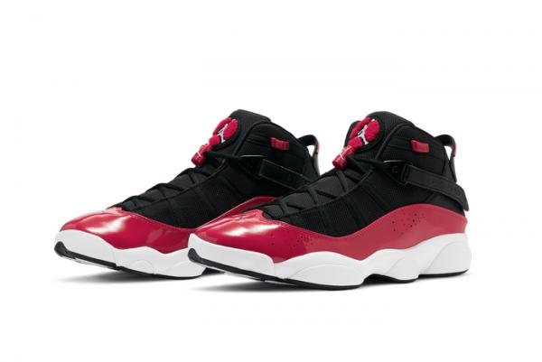 "New Jordan 6 Rings ""Fitness Red"" On Sale 322992-060-2"