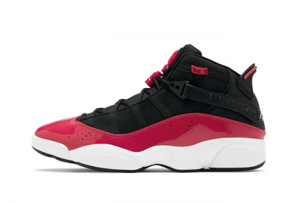 "New Jordan 6 Rings ""Fitness Red"" On Sale 322992-060"