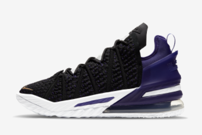 Nike LeBron 18 EP Lakers Hot Sale CQ9284-004