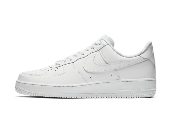 2021 Cheap Nike Air Force 1 07 Triple White For Sale CW2288-111