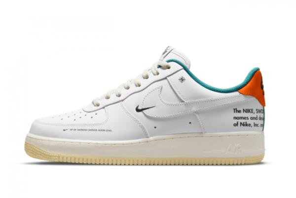 "2021 Latest Nike Air Force 1 '07 LE ""Starfish"" DM0970-111 On Sale"