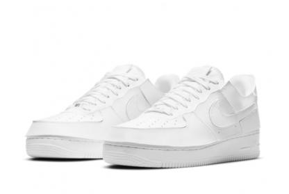 2021 Latest Nike Air Force 1/1 White White CV1758-100 On Sale-2