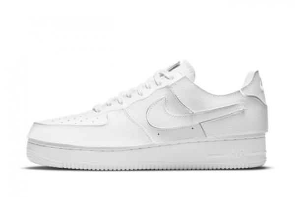 2021 Latest Nike Air Force 1/1 White White CV1758-100 On Sale