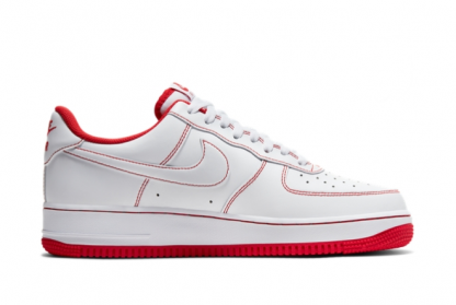2021 Latest Nike Air Force 1 Low 07 White University Red CV1724-100 On Sale-1