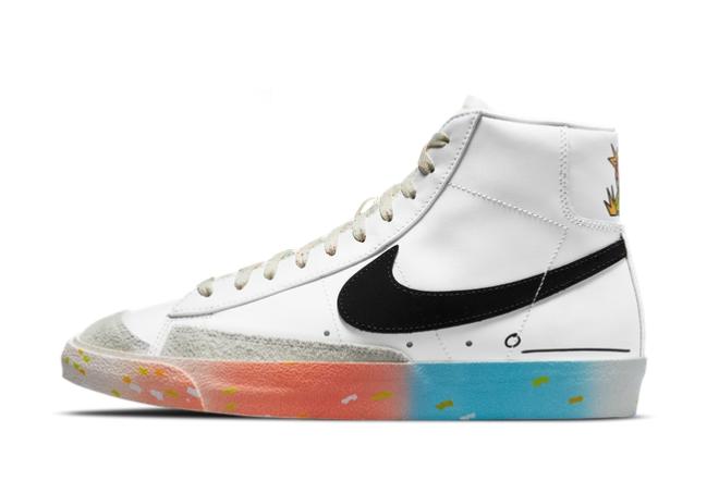 2021 Latest Nike Blazer Mid 77 Make It Count DJ4278-101 On Sale