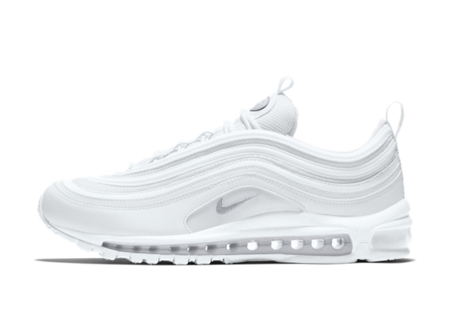 2021 New Nike Air Max 97 Triple White For Sale 921826-101