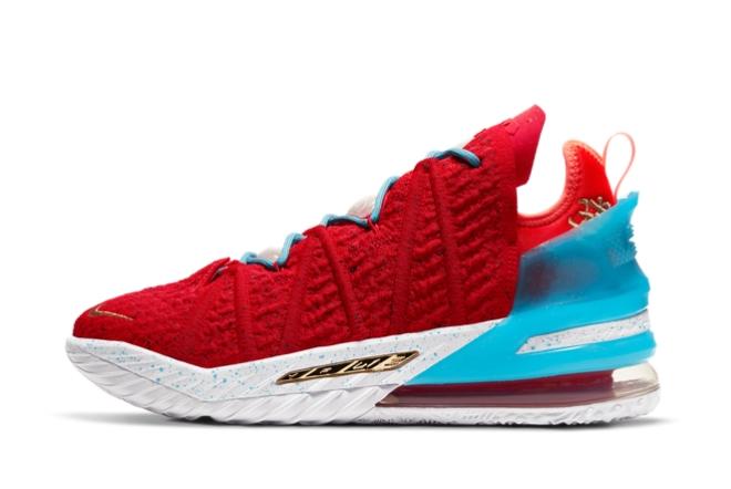 2021 New Nike Lebron 18 Gong Xi Fa Cai For Sale CW3155-600