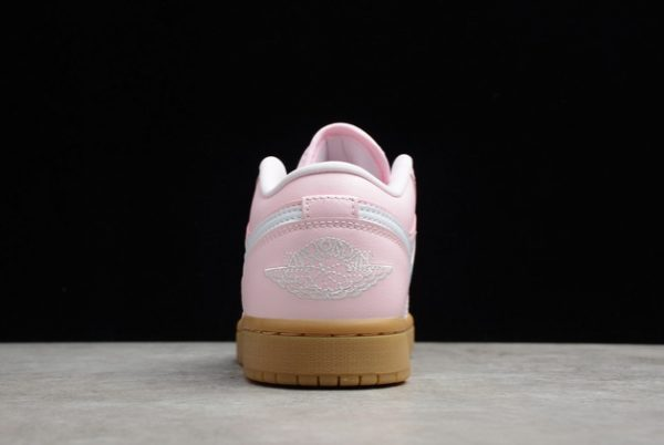 2021 Cheap DC0774-601 Air Jordan 1 Low GS Pink Gum For Sale-4