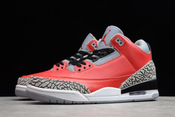 2021 New CK5692-600 Air Jordan 3 Red Cement For Sale-2