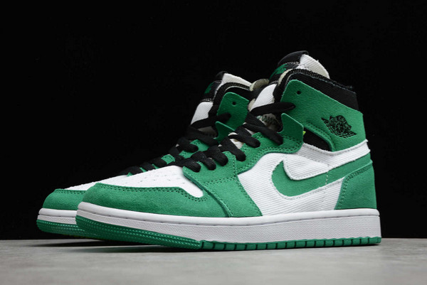 2021 New CT0978-300 Air Jordan 1 Zoom CMFT Stadium Green For Sale-2