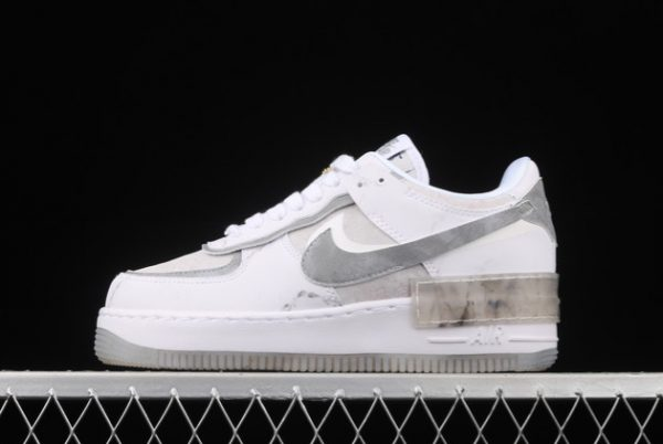 2021 CHEAP DJ4635-100 NIKE WMNS AIR FORCE 1 SHADOW GODDESS OF VICTORY FOR SALE