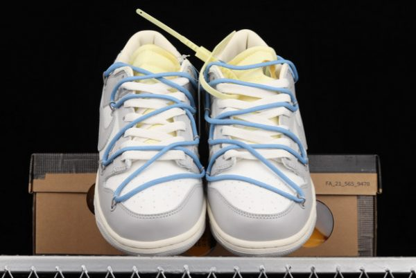 2021 CHEAP DM1602-113 OFF-WHITE X NIKE DUNK LOW 04 OF 50 FOR SALE-1