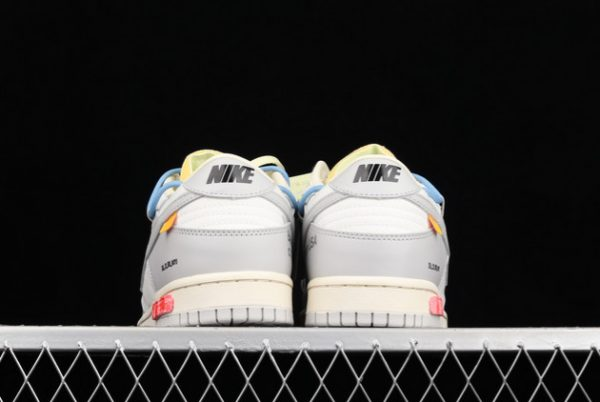 2021 CHEAP DM1602-113 OFF-WHITE X NIKE DUNK LOW 04 OF 50 FOR SALE-3